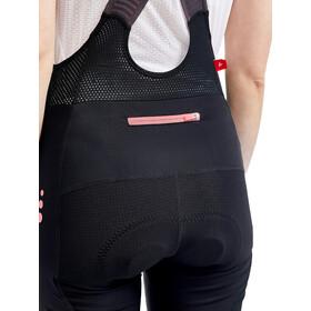 Craft ADV Offroad Bib Shorts Women black/coral